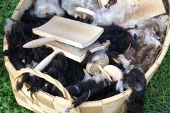 оборудует традиционные шерсти Стоковое Фото