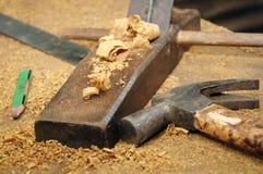 оборудует woodworking Стоковые Изображения RF