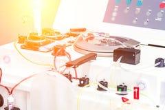 Оборудование лаборатории медицинское Автоматизированное машинное оборудование для transf Стоковая Фотография RF