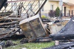 Оборудование бара после огня Стоковая Фотография RF