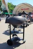 Оборудование барбекю стоя на выставке Стоковые Фото