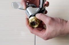 Оборудование ванной комнаты Стоковое Изображение