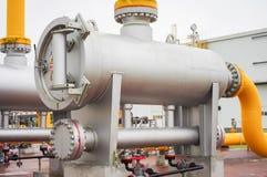 Оборудование газопровода Стоковая Фотография RF