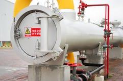 Оборудование газопровода Стоковая Фотография