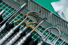 оборудование заботы зубоврачевания Стоковая Фотография