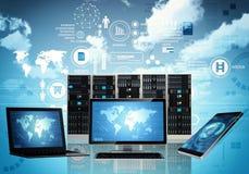 Оборудование интернет-связи стоковые фотографии rf