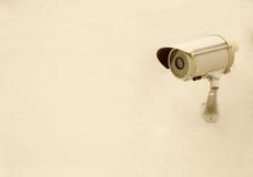 Оборудование камеры слежения на стене Стоковая Фотография RF