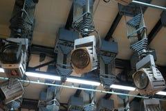 Оборудование киносъемки Стоковое фото RF