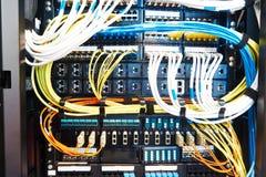 Оборудование комнаты сервера Стоковые Изображения