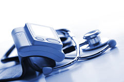 Оборудование кровяного давления Стоковые Изображения