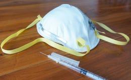 Оборудование маски N95 Стоковая Фотография
