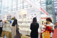 Оборудование международного отеля Шэньчжэня и выставка поставек, в Китае Стоковая Фотография