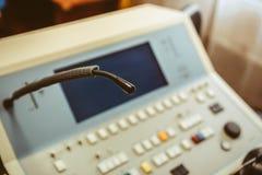 Оборудование микрофона медицинское Стоковое Изображение RF