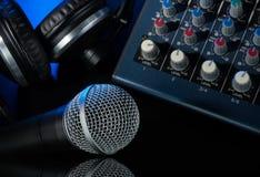 Оборудование музыки Стоковое Фото
