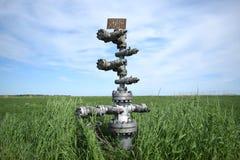 Оборудование нефтяной скважины Стоковое Изображение