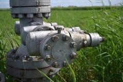 Оборудование нефтяной скважины Стоковые Изображения RF