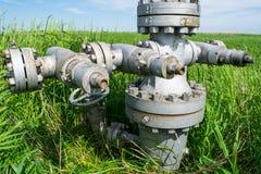 Оборудование нефтяной скважины Стоковое Изображение RF