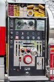 Оборудование пожарной машины стоковые фотографии rf