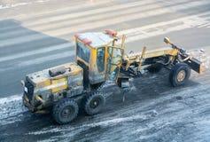 Оборудование строительства дорог Стоковая Фотография