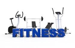 Оборудование 1 фитнеса бесплатная иллюстрация