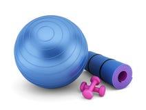 Оборудование фитнеса бесплатная иллюстрация