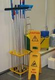 оборудование чистки Стоковые Изображения RF