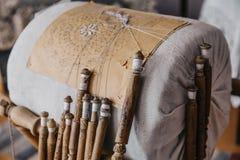 Оборудование шнурка катушкы для handmade ремесла Стоковые Фото