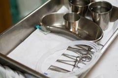Оборудование для ангиопластики перкутанного tranluminal коронарной Стоковая Фотография