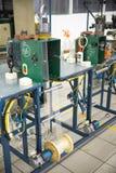 Оборудование для изготовляя оплеток металла Стоковые Изображения RF