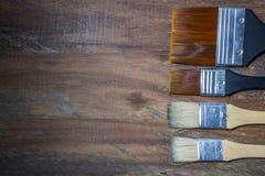 Оборудование для красить и оборудования airbrush - изображение запаса Стоковая Фотография