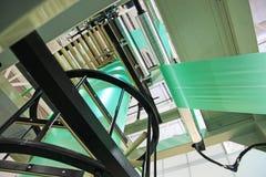 Оборудование для полиэтиленовых пакетов изготовления стоковые фото
