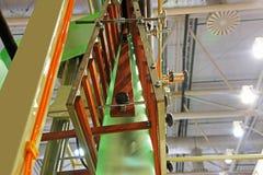 Оборудование для полиэтиленовых пакетов изготовления стоковое фото rf