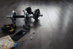 оборудование для фитнеса Стоковые Фото