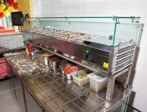 Оборудование для pizzerias стоковое изображение