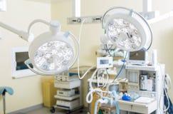 Оборудование ` s комнаты хирургии полное Стоковое Изображение RF