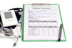 оборудуйте медицинскую Стоковые Изображения