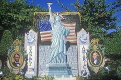 Обочина изменяет к Америка Стоковая Фотография