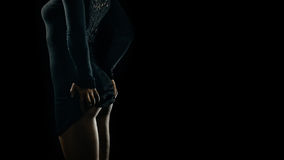 Обольстительные кривые женщины Стоковые Фотографии RF