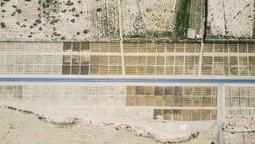 Обрабатываемая земля в Синьцзян Стоковая Фотография