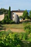 Обрабатываемая земля, Провансаль, Франция стоковые фото