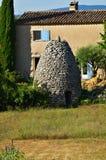 Обрабатываемая земля, Провансаль, Франция стоковые изображения