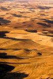 Обрабатываемая земля штата Вашингтона области Rolling Hills Palouse восточная Стоковое Изображение