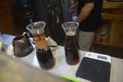 Обрабатываемая индустрия кофе Стоковое фото RF