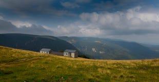 Обрабатывайте землю в высотах гор Вогезы Стоковые Изображения