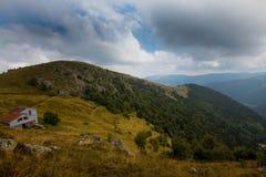 Обрабатывайте землю в высотах гор Вогезы Стоковые Фотографии RF