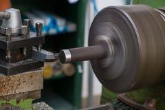 Обрабатывайте машину на токарном станке Стоковые Фотографии RF
