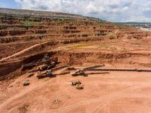 Обрабатывать в угольной шахте стоковая фотография rf