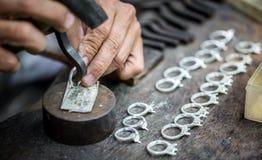 Обрабатывать драгоценных камней стоковые изображения