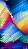 Обрабатывать жидкостный цвет Стоковые Изображения RF