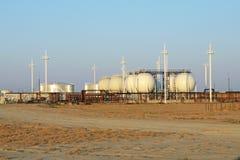обрабатывать завода газа стоковые изображения rf